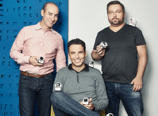 founders with cozmo